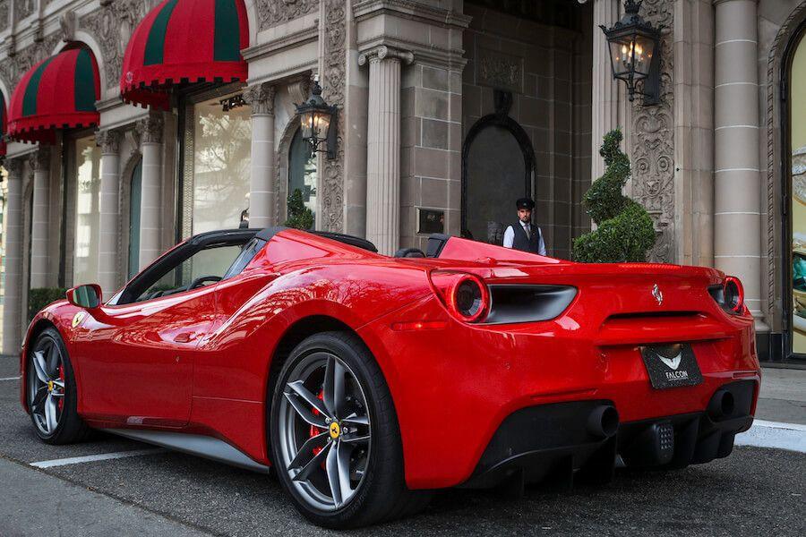 Ferrari 488 Spider Red 6-48886