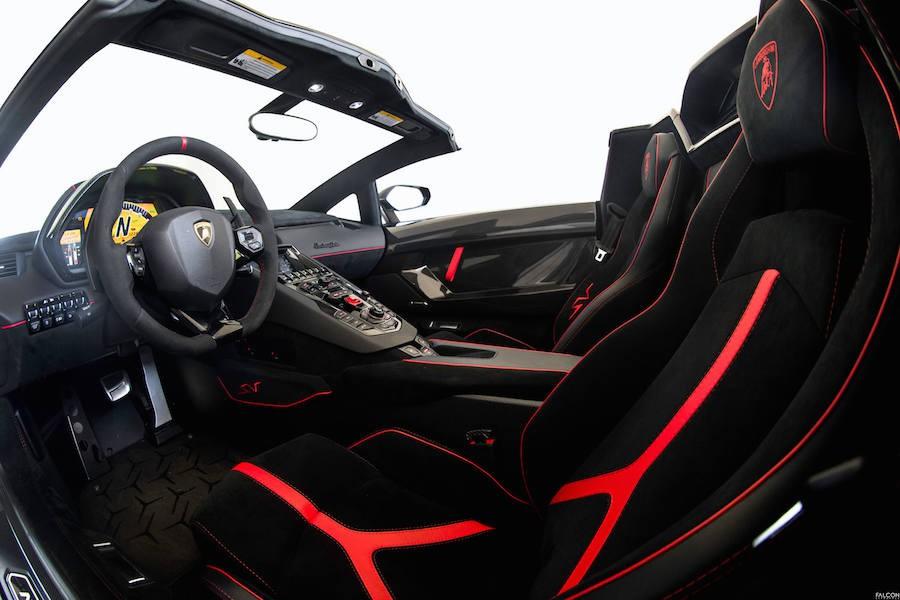Lamborghini Aventador SV Roadster Rental 3-62021