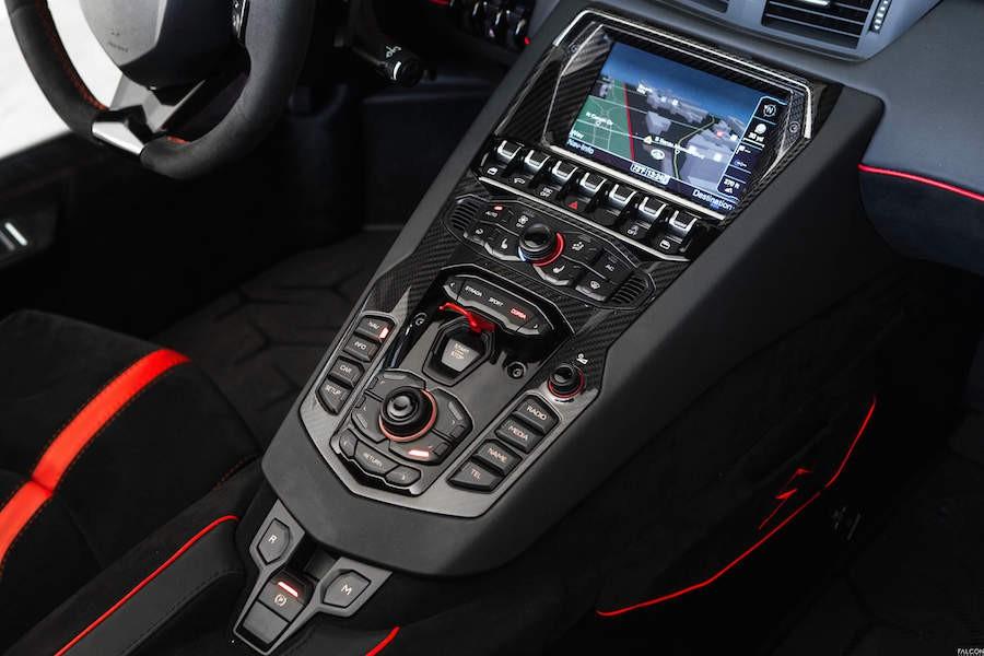 Lamborghini Aventador SV Roadster Rental 6-80687