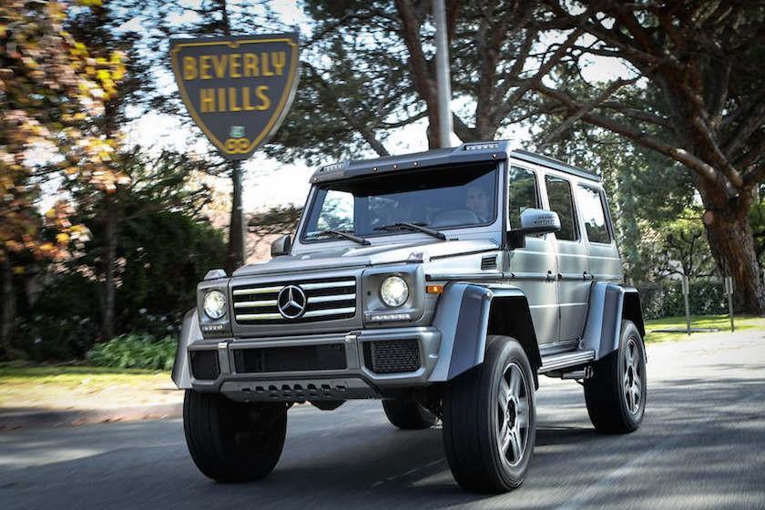 Mercedes G550 4x4 Squared Rental 2-62028