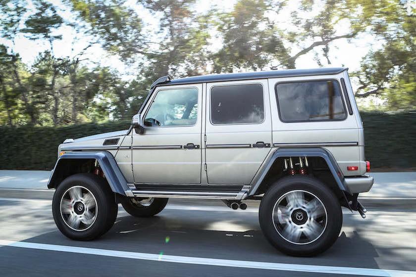 Mercedes G550 4x4 Squared Rental 3-78538