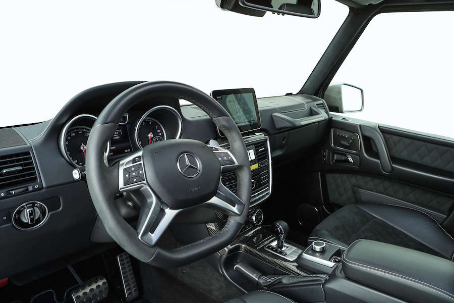 Mercedes G550 4x4 Squared Rental 6-356