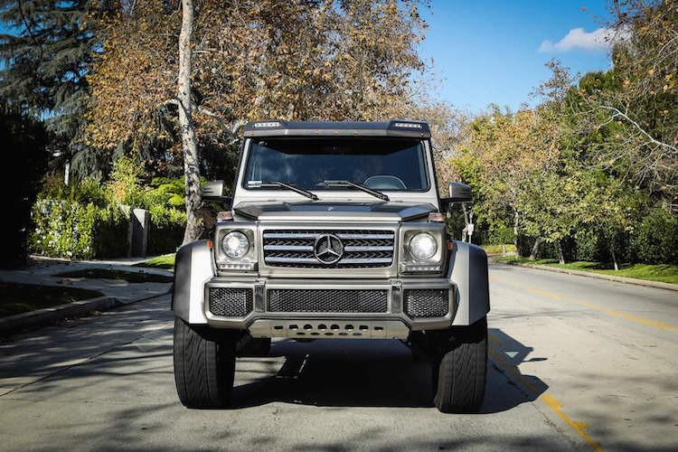 Mercedes G550 4x4 Squared Rental 8-15246