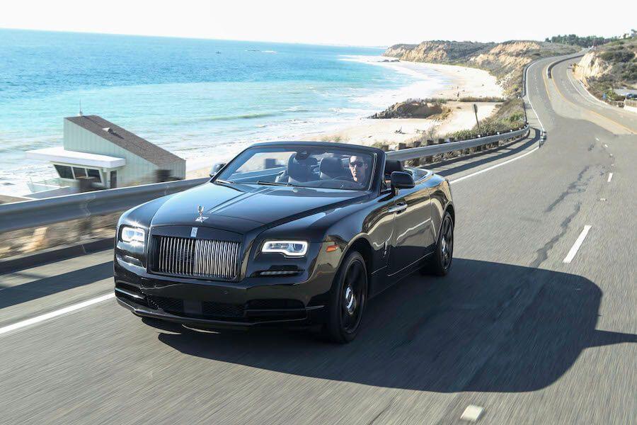blacked our Rolls Royce Dawn Rental 2-78237